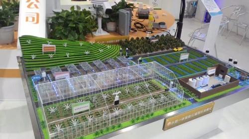 农业丛植基地模型