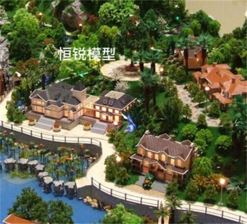 蓬莱景观模型制作