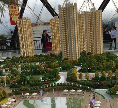 曼哈顿房地产模型制作