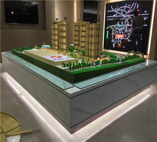 中凯华府房地产模型