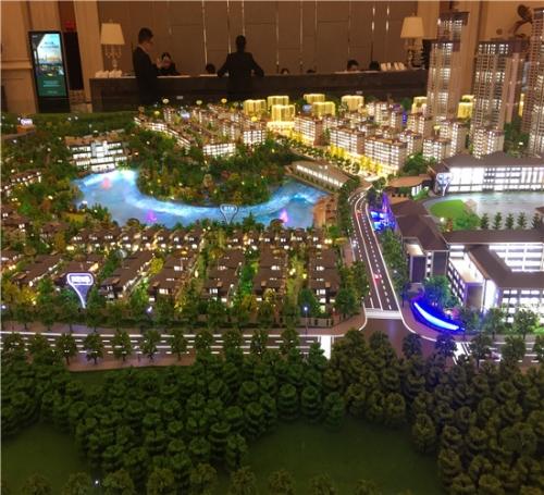 上海中建房地产模型