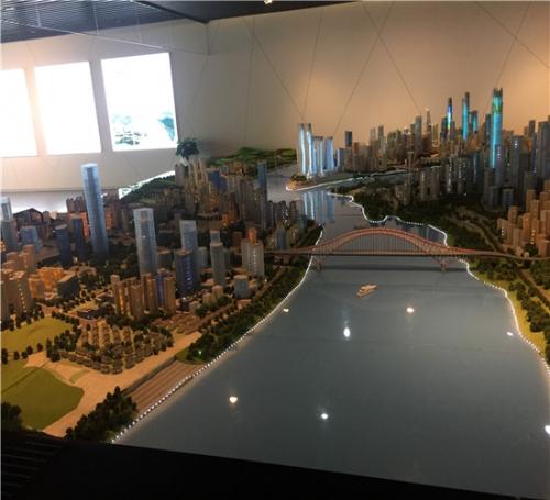 上海规划模型建造