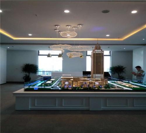上海皇庭大厦房地产模型